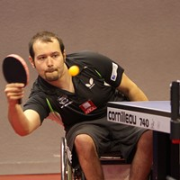 Maxime Thomas, champion d'Europe de tennis de table en fauteuil !