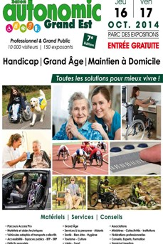 16 et 17 octobre 2014 : Salon Autonomic Grand Est