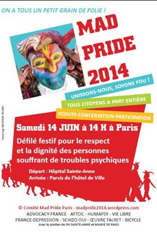 La 1ère Mad Pride en France !