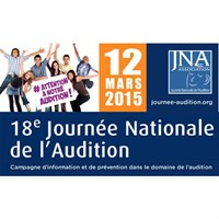 12 mars 2015 : Journée nationale de l'Audition